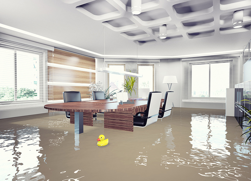 flooded office Could Your Business Benefit From Flood Insurance?