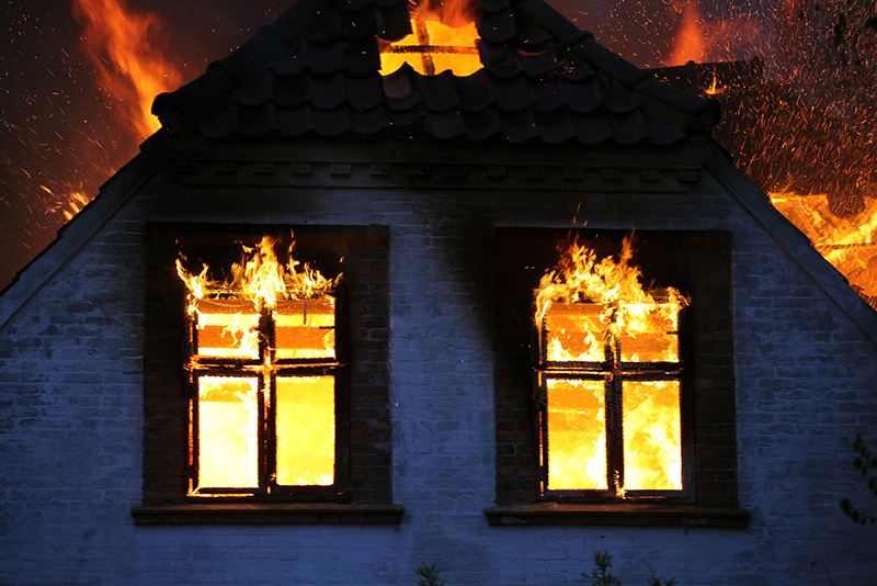 house on fire What is Covered by Fire Insurance?